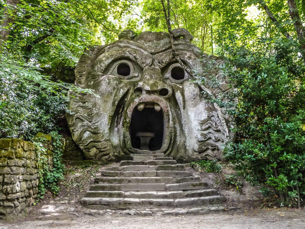 Garden of Bomarzo, Lazio