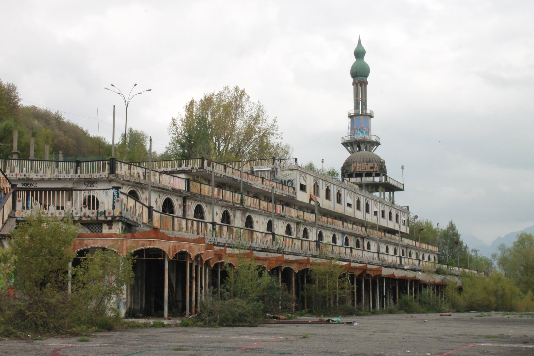 The ghost town of Consonno, Lombardy